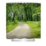 Spring Time In Rural Ohio Shower Curtain