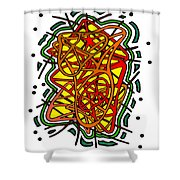 Spring Time Narcolepsy Shower Curtain