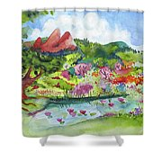 Spring To Summer Shower Curtain