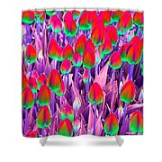 Spring Tulips - Photopower 3112 Shower Curtain