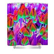 Spring Tulips - Photopower 3116 Shower Curtain