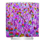Spring Tulips - Photopower 3121 Shower Curtain