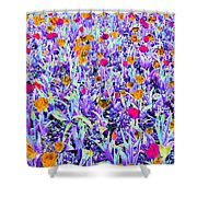 Spring Tulips - Photopower 3125 Shower Curtain