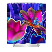 Spring Tulips - Photopower 3151 Shower Curtain