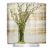 Spring Vase Shower Curtain