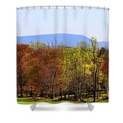 Spring Woods Shower Curtain