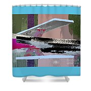 Springboard 2x Shower Curtain