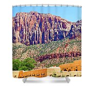Springdale View Shower Curtain