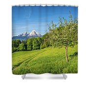 Beauty In Your Hands Shower Curtain