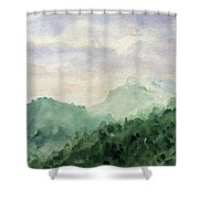 Springs First Kiss Shower Curtain
