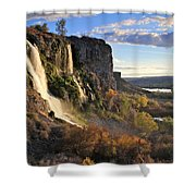Springs Of Thousands Shower Curtain