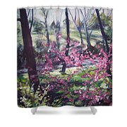 Spring's Passion 2 Shower Curtain