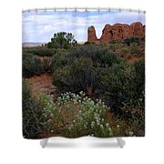 Springtime At Arches Shower Curtain