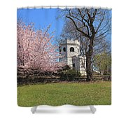 Springtime At The Botanical Garden Shower Curtain