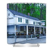 Springtime At The Valley Green Inn Shower Curtain