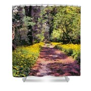 Springtime In Astroni National Park In Italy Shower Curtain