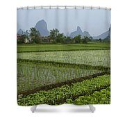 Springtime In Guangxi Shower Curtain
