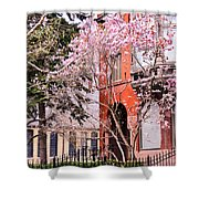 Springtime In Lincoln Park Shower Curtain