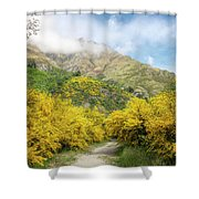 Springtime In New Zealand Shower Curtain