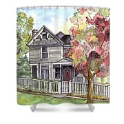 Springtime In The Country Shower Curtain