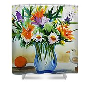 Springtime Melody Shower Curtain