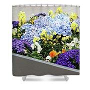 Springtime Planter Shower Curtain