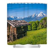 Springtime Wonderland Shower Curtain