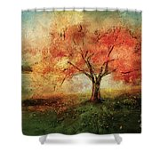 Sprinkled With Spring Shower Curtain