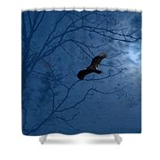 Sprit In The Sky Shower Curtain