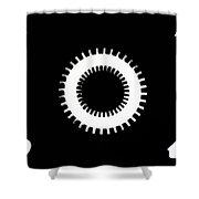 Sprocket Shower Curtain