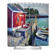 Spruce Head Island, Maine Shower Curtain