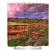 Spruce Tree House At Mesa Verde National Park - Colorado Shower Curtain