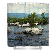 Squam Lake, New Hampshire Shower Curtain
