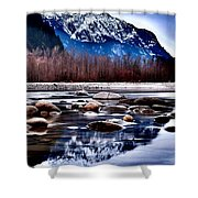 Squamish River Shower Curtain