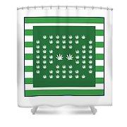 Square 8-25c Shower Curtain