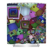 Square Man Shower Curtain