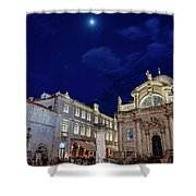 Square Of The Loggia Shower Curtain