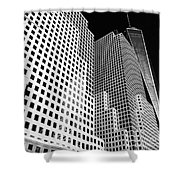 Squared, New York City Shower Curtain