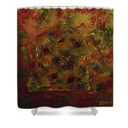 Squarenix Blotcharindo Shower Curtain