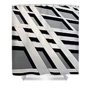 Squares And Rectangles Shower Curtain