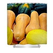 Squashes Shower Curtain