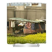 Squatters Homes Shower Curtain