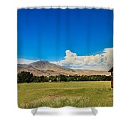 Squaw Butte And Little Butte Shower Curtain