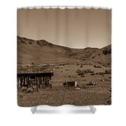 Squaw Butte Homestead Shower Curtain