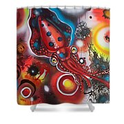 Squink Shower Curtain