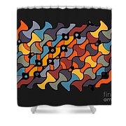 Design 76 Shower Curtain