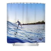 Srufer, Dude Shower Curtain