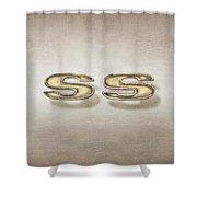 Super Sport Emblem Shower Curtain