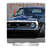 Ss On Autocross Course Shower Curtain