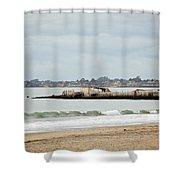 S.s. Palo Alto Shower Curtain